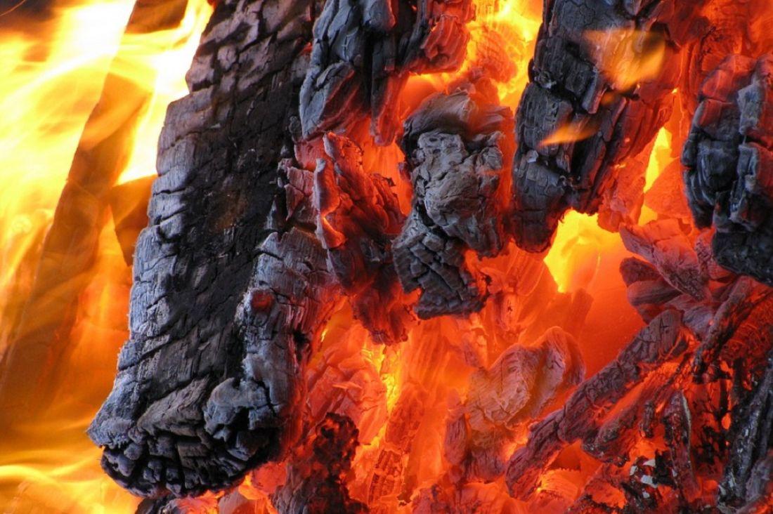 ВБашмаковском районе впожаре пострадала 53-летняя сельчанка