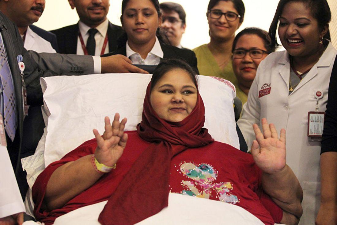 В Объединенных Арабских Эмиратах скончалась самая толстая женщина в мире