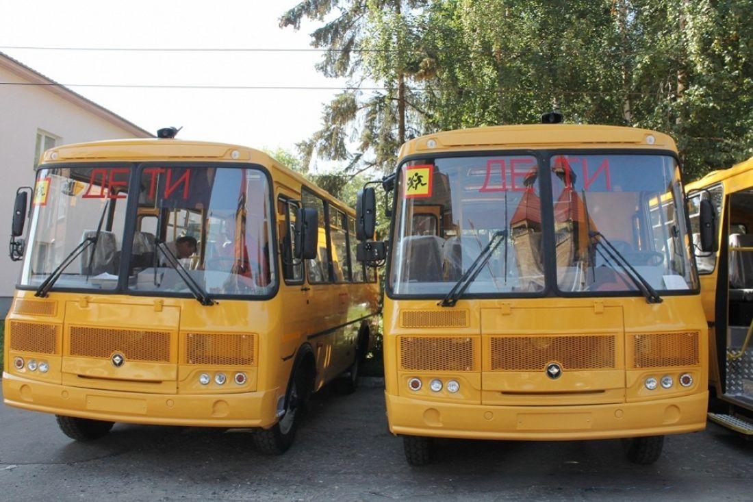 Школы вОмской области получат вначале осени новые автобусы