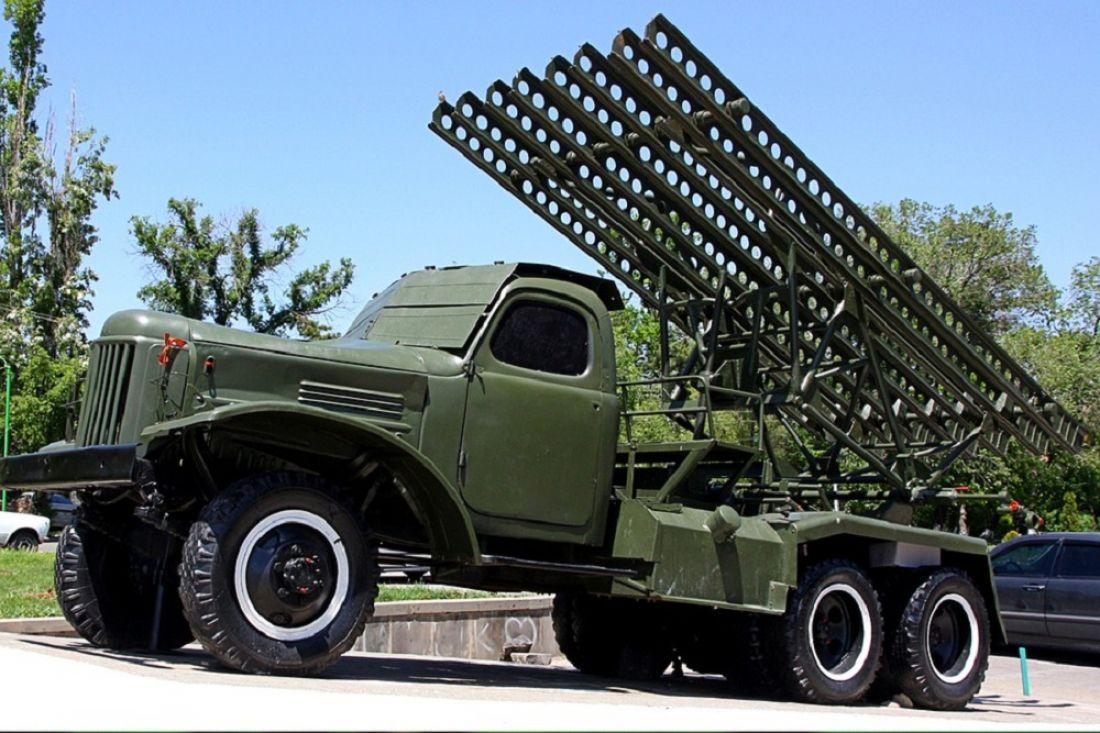 Мэр Пензы принял участие восмотре выставки военной техники