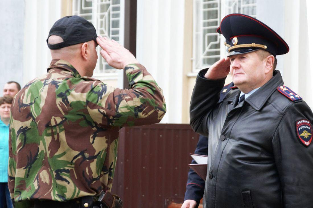Бойцы пензенского ОМОНа вернулись изкомандировки наСеверный Кавказ
