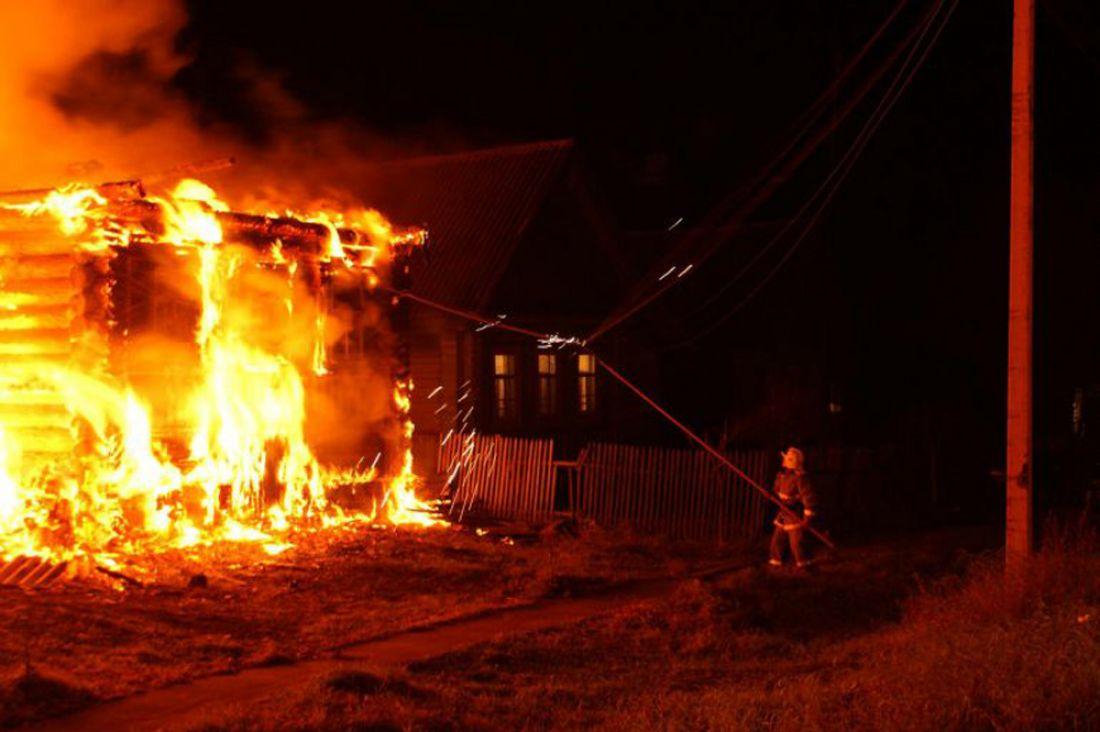 Вкрупном пожаре под Брянском пострадали люди