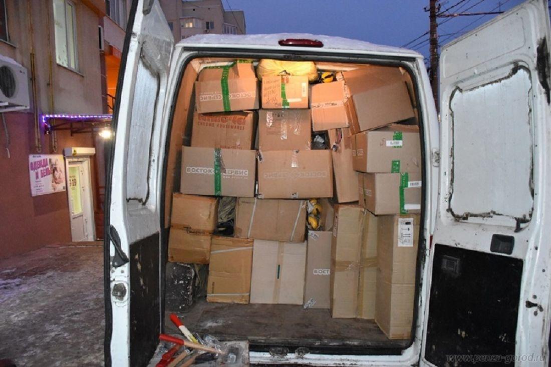 Пенза отправила гуманитарный груз вДНР