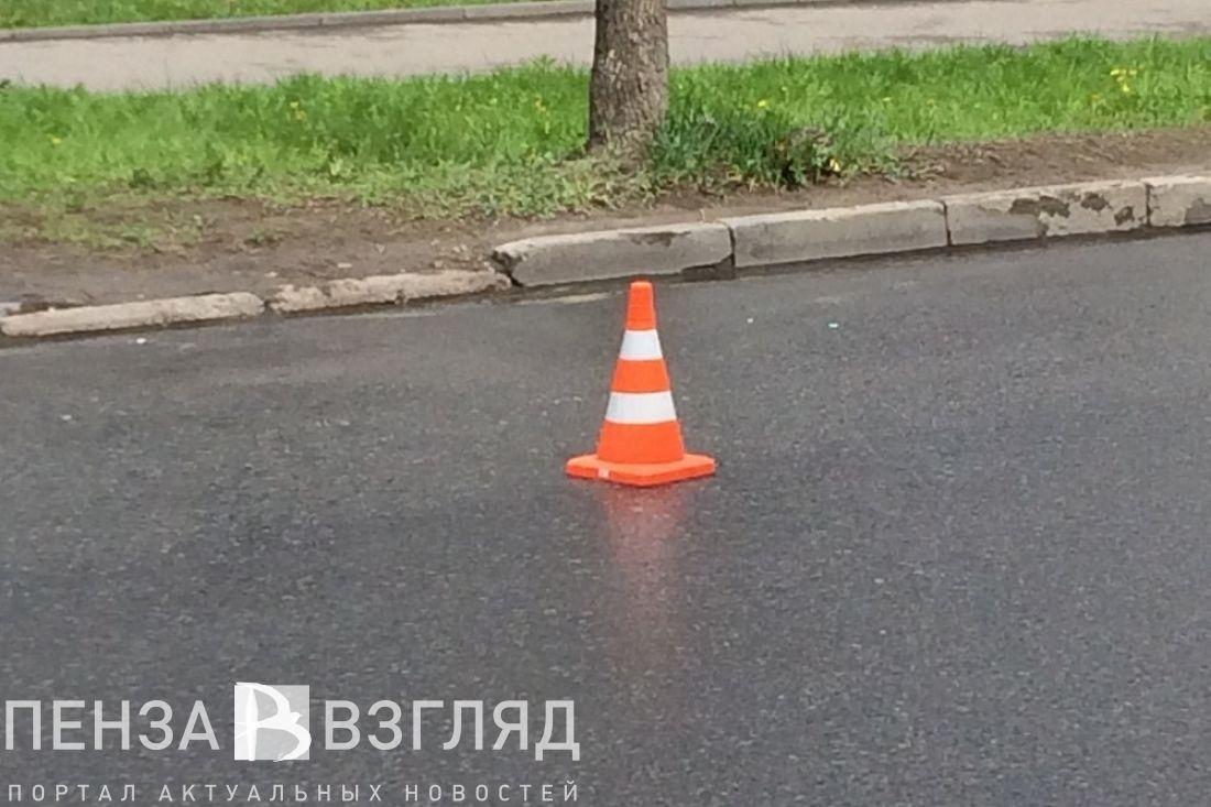 Мотоциклист умер вДТП напроспекте Победы вПензе
