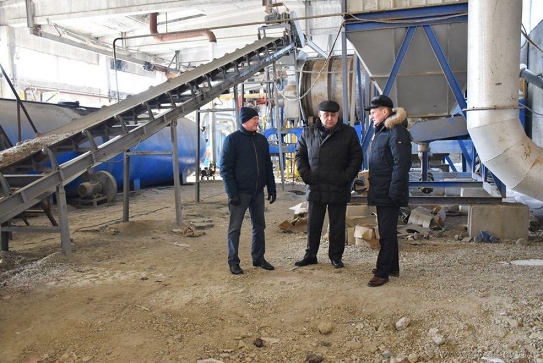 Асфальтобетонный завод вПензе вновь начнет работать