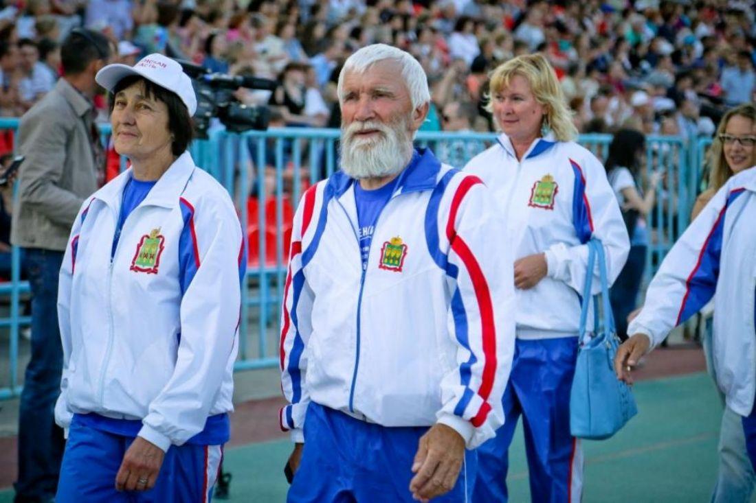 Пензенская сборная приняла участие вСпартакиаде пожилых людей