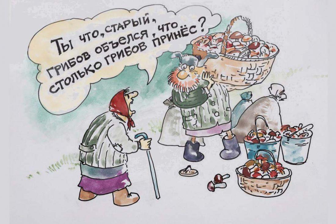 Смешные картинки грибники, новогодние открытки картинки