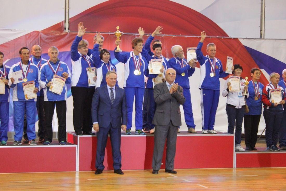 Команда Владимирской области приняла участие вСпартакиаде пожилых людей РФ