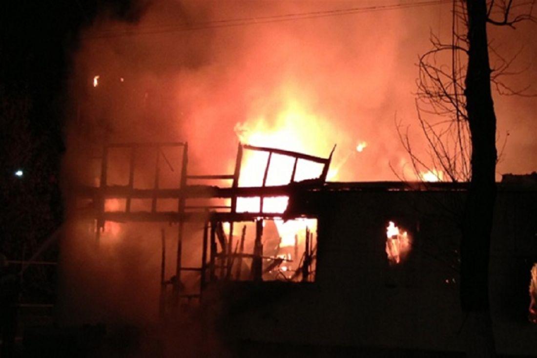 Сверепый пожар вПензе тушили 21 человек