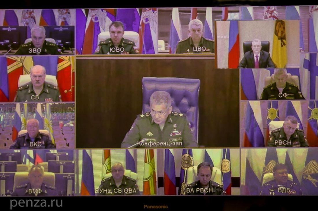 Губернатор принял участие внаучно-практической конференции, проводимой Министерством обороныРФ