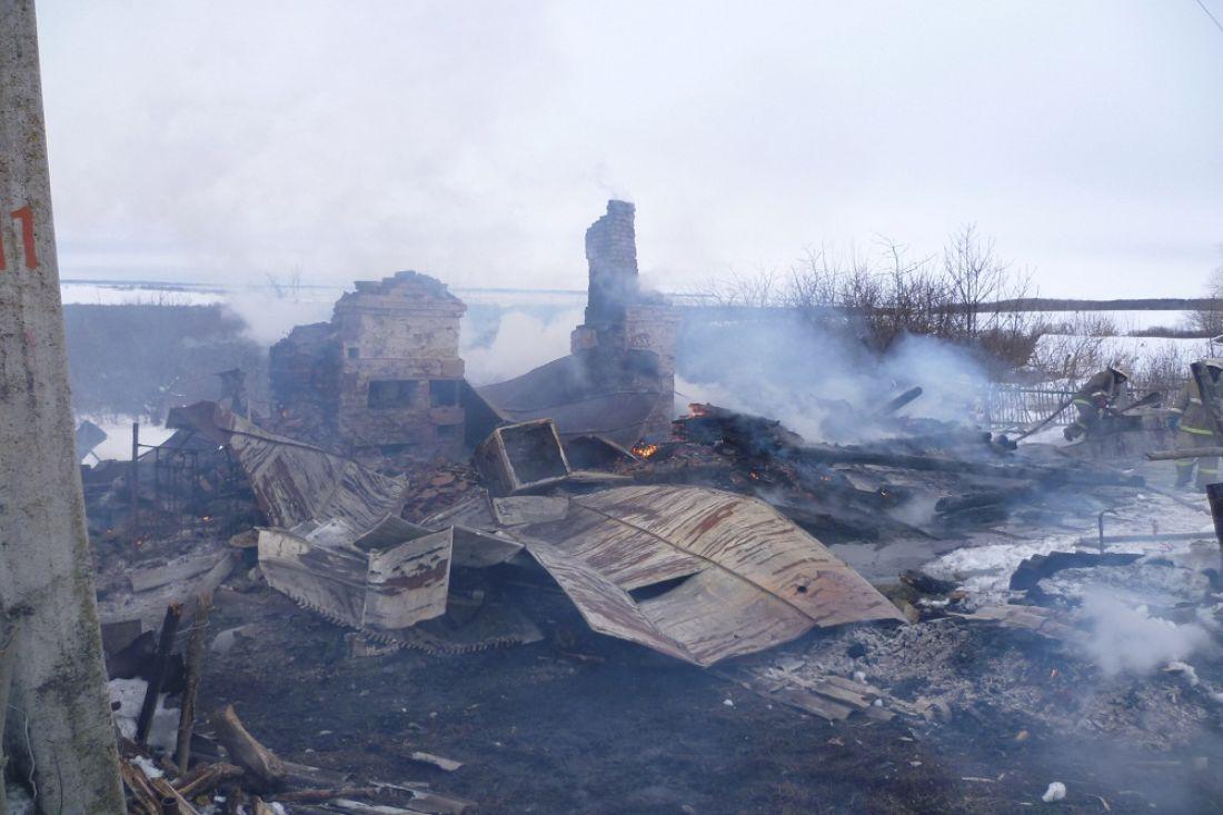 ВКаменском районе впожаре умер 63-летний мужчина