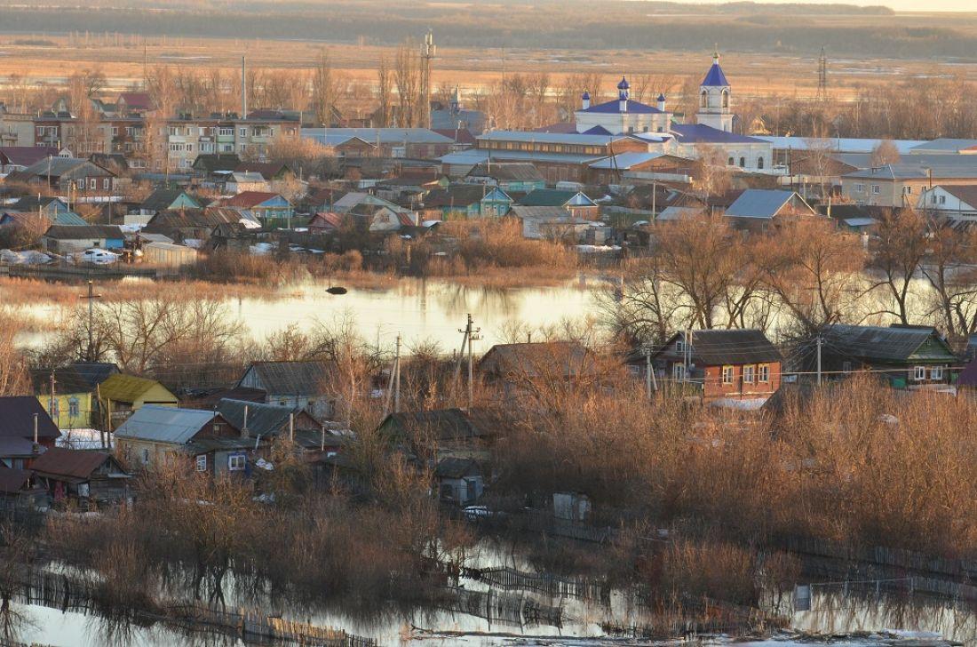 РежимЧС ввели в 2-х районах Пензенской области всвязи спаводком