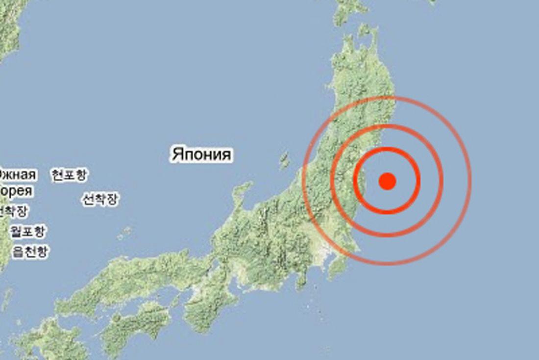 Землетрясение случилось в70 километрах отберегов Камчатки