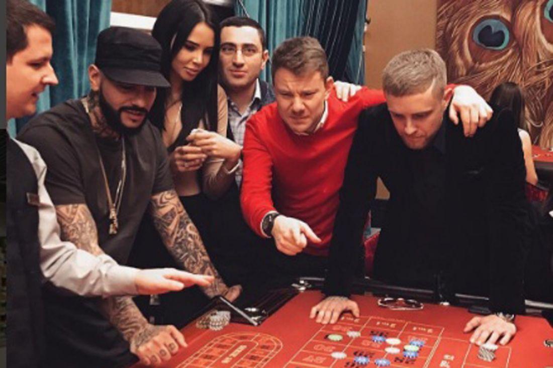 Егор Крид посетил новое казино вСочи