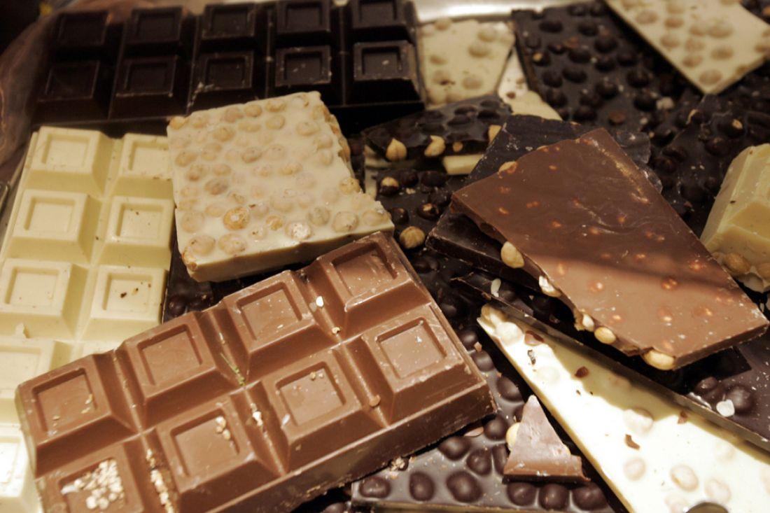 Белгородец похитил измагазина исъел шесть килограммов шоколада
