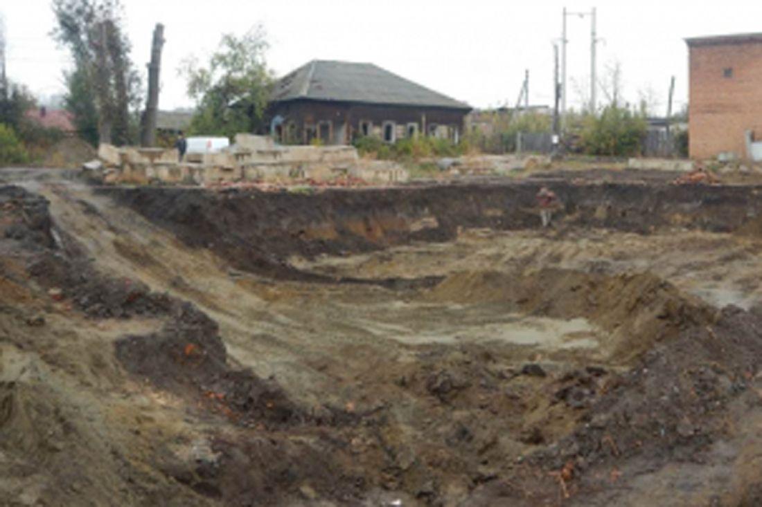 При строительстве частного дома найдены человеческие кости