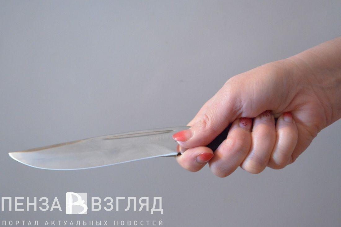 Пензячка ударила гражданского супруга ножом вголову