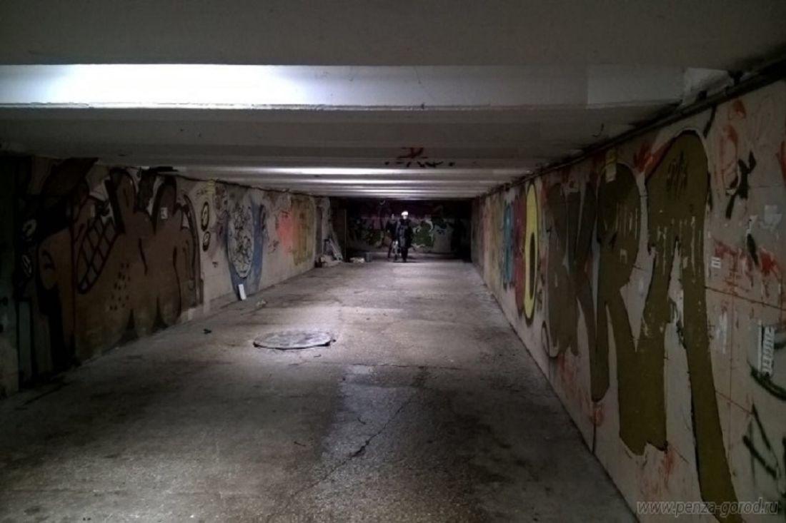 ВПензе напротяжении недели закончат ремонт подземных переходов