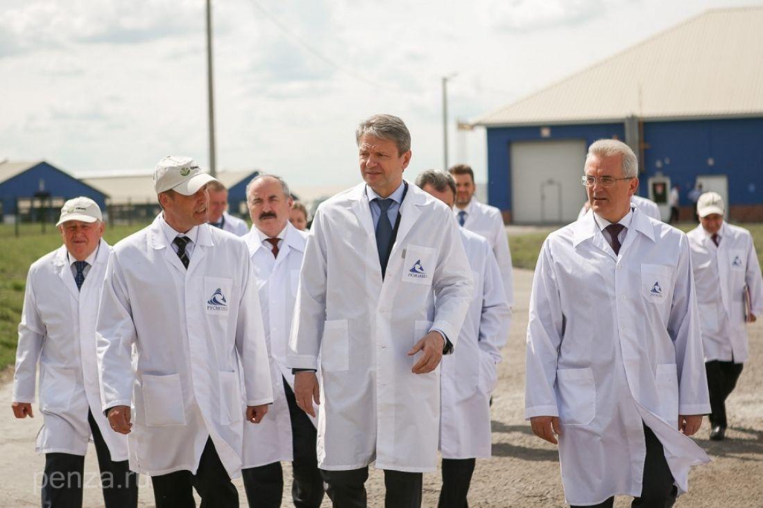ВПензенской области руководитель МинсельхозаРФ посетил птицеводческий имолочно-товарный комплексы