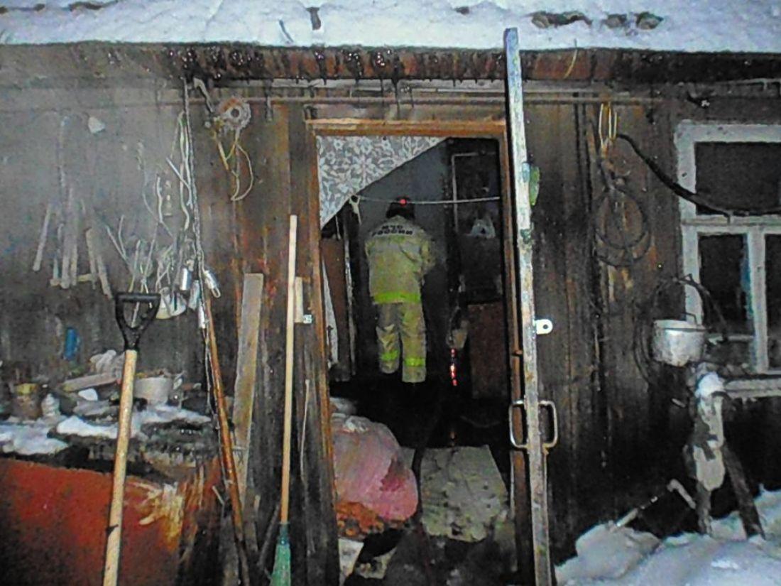 ВНижнем Ломове впожаре умер 82-летний мужчина