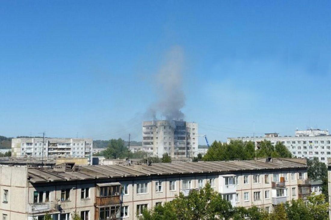ВЛенинском районе Кемерова загорелась квартира на12 этаже