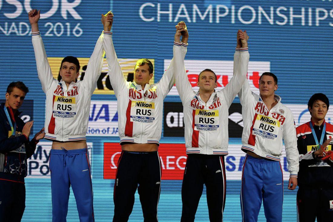 Русские пловцы выиграли шестое золотоЧМ накороткой воде