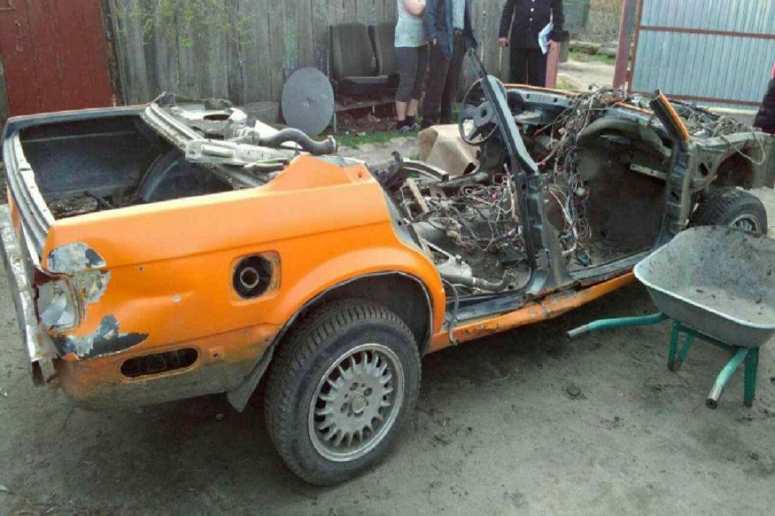 Граждане пензенского села угнали «BMW», чтобы разобрать на детали