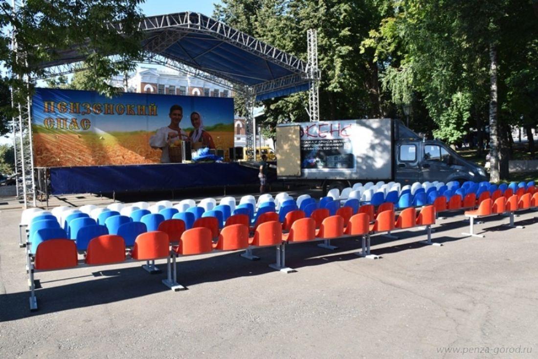 ВПензе заканчиваются  последние приготовления кобластному празднику «Спас»