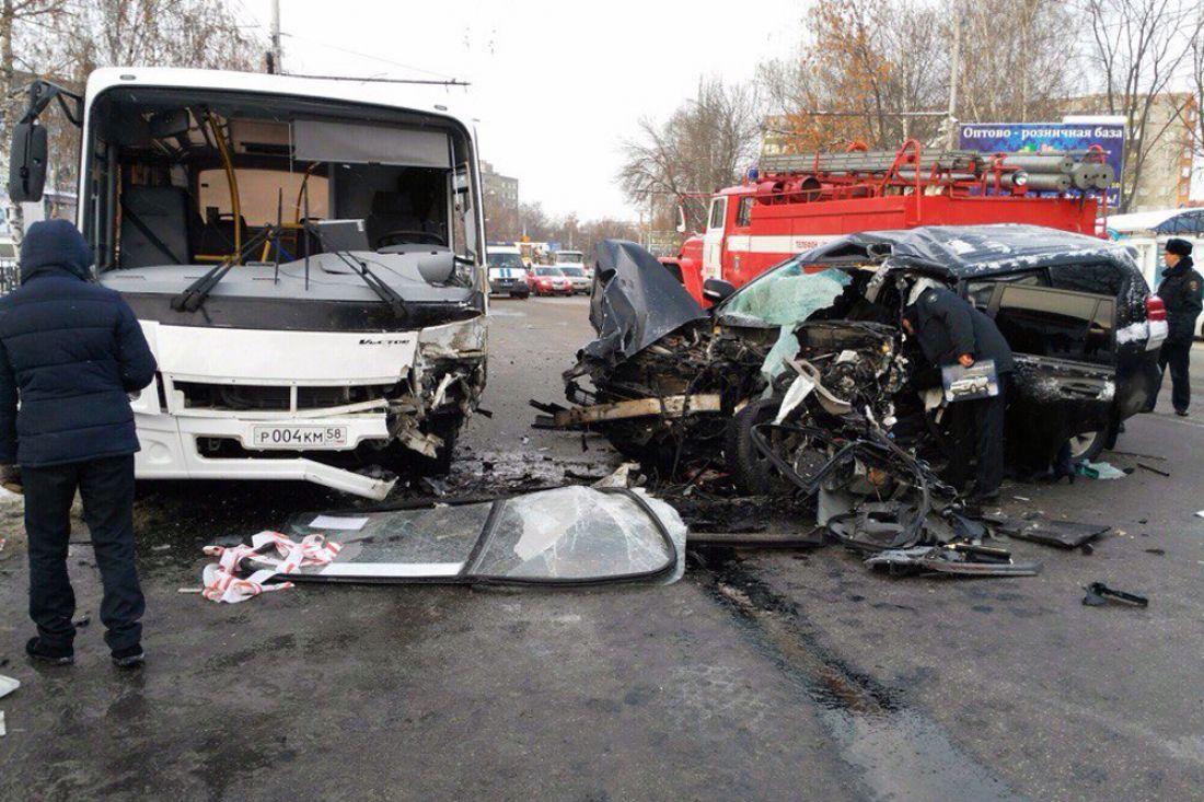 Вутреннем ДТП уавтовокзала вПензе умер человек
