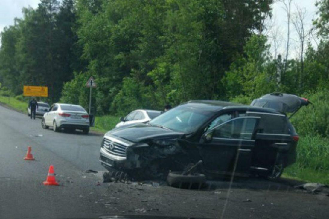90-летняя автомобилистка погибла влобовом столкновении с«Infiniti»
