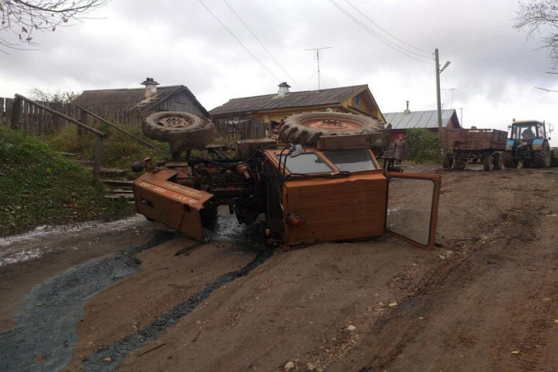 ВКузнецком районе мужчина оказался под колесами фуры