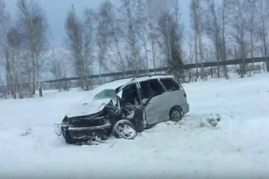 Авария вМалосердобинском районе унесла жизнь двоих