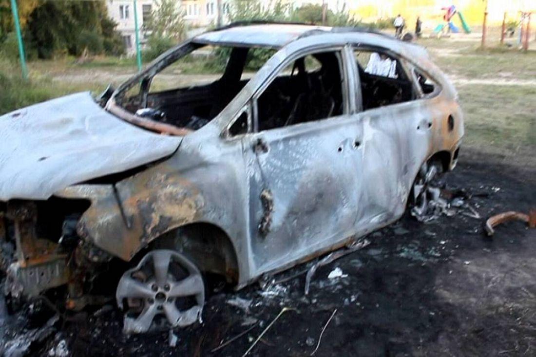 ВПензе ночью сгорели «Lexus» и«Audi»
