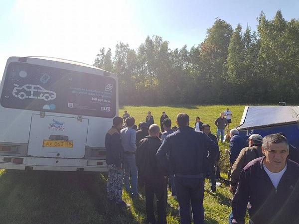 5 пензенцев стали жертвами ДТП сучастием пассажирского автобуса и фургона