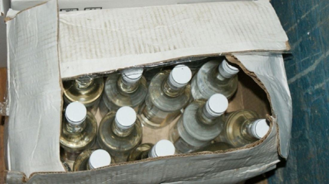 ВНовосибирской области милиция задержала фуру снемаркированным спиртом