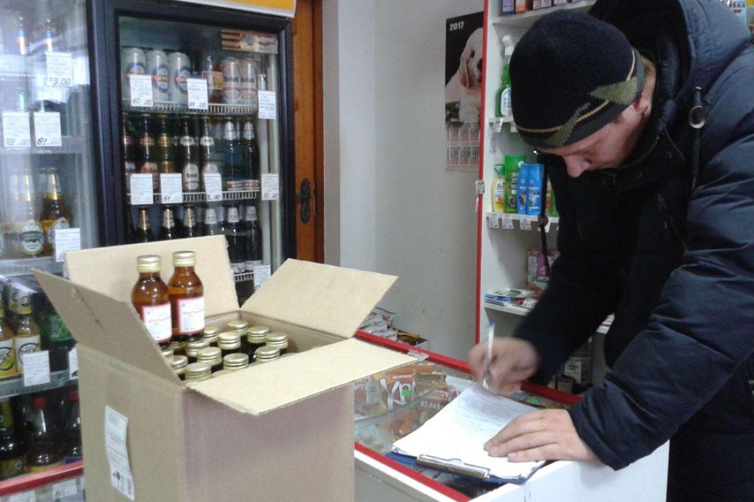 ВПензе измагазина «Эконом» изъято 400 флаконов спиртосодержащих лосьонов