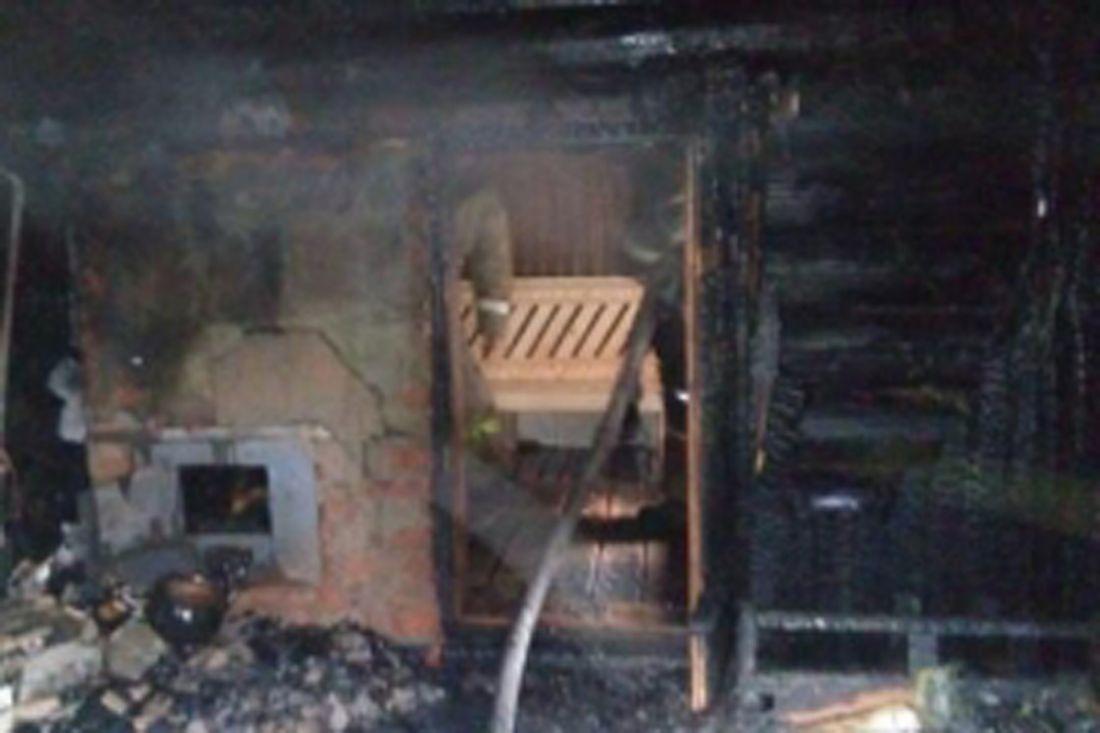 Три бани сгорело завыходные вПензенской области