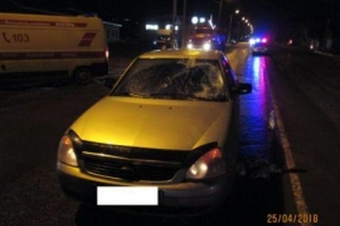 4 машины столкнулись вСтаврополе повине автоледи навнедорожнике