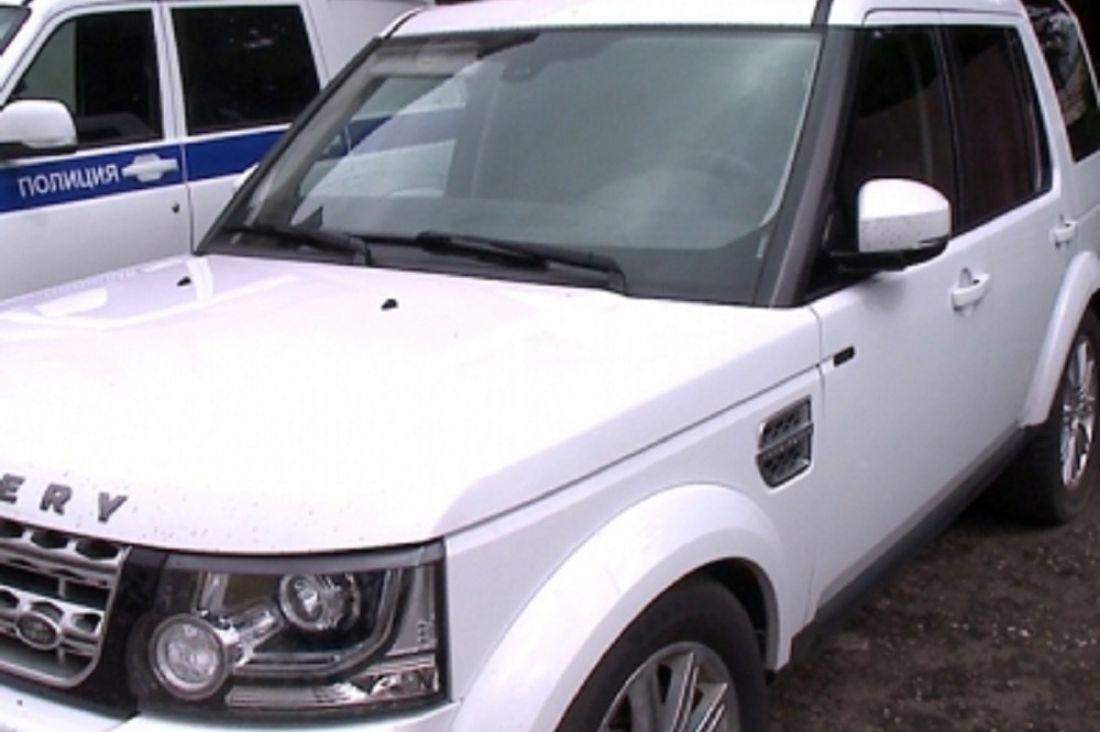 Исчезнувший вПензе «Land Rover Discovery» полицейские отыскали вТольятти