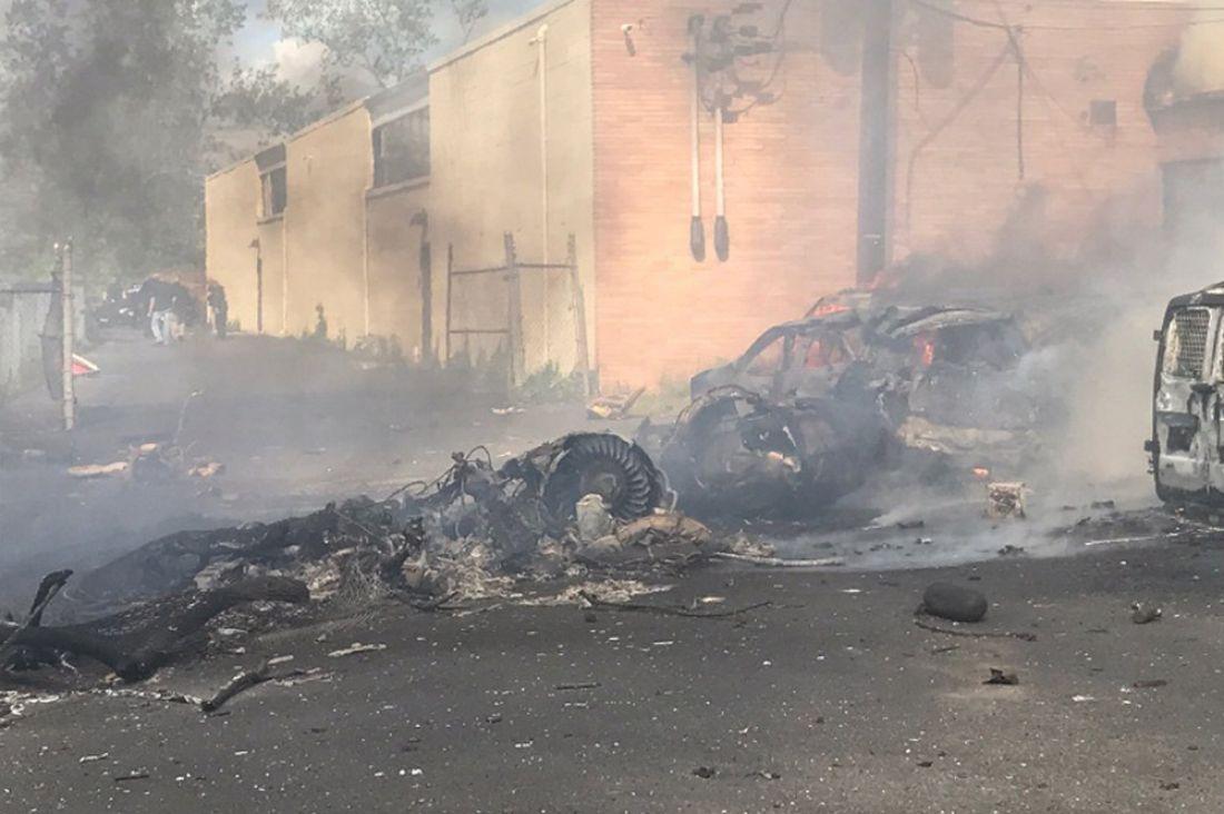 Самолет бизнес-класса потерпел крушение при посадке вНью-Джерси