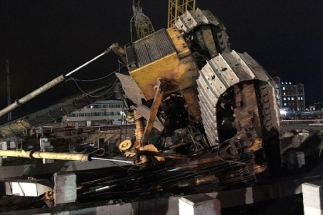После погибели водителя бульдозера вКазани СКР возбудил уголовное дело
