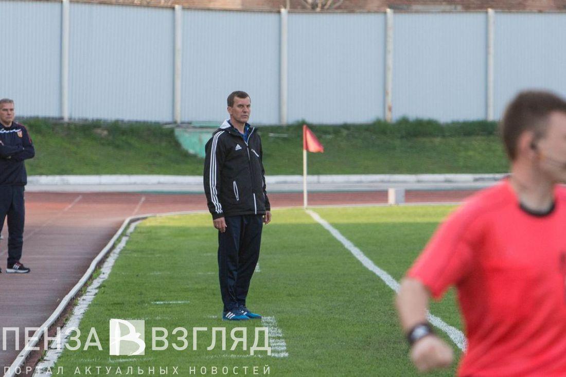 Пензенский «Зенит» покинул главный тренер клуба