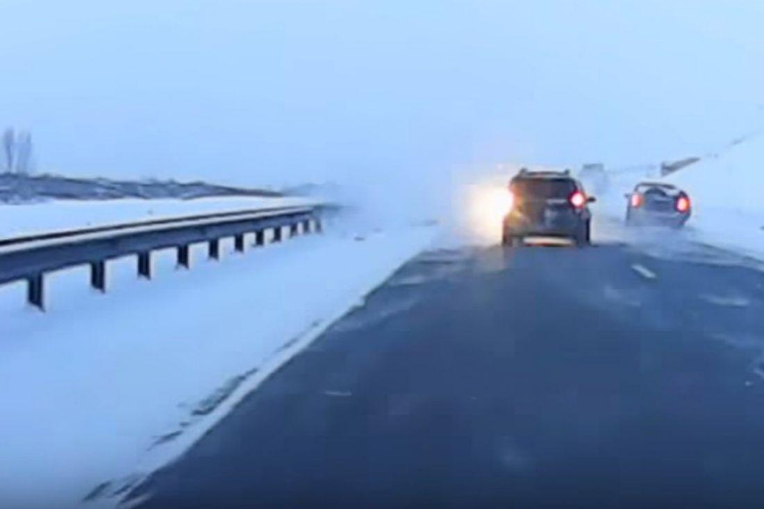 Под Красноярском 5 авто попали вмассовое ДТП