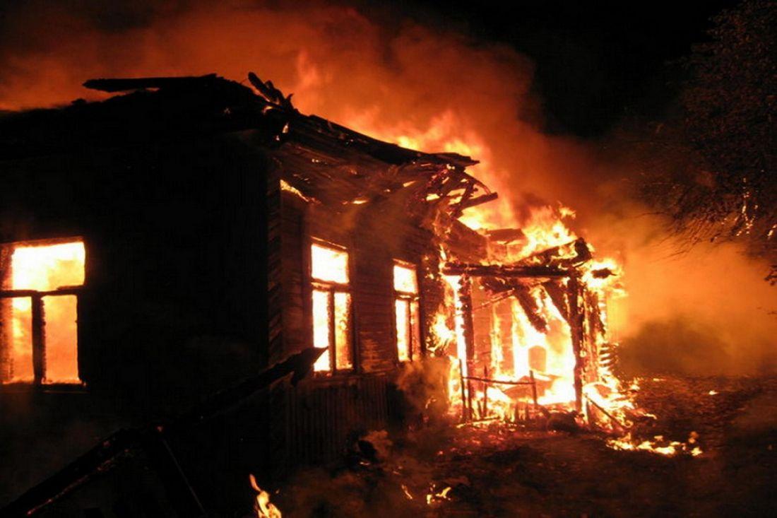 ВБашмаковском районе впожаре  умер  66-летний мужчина