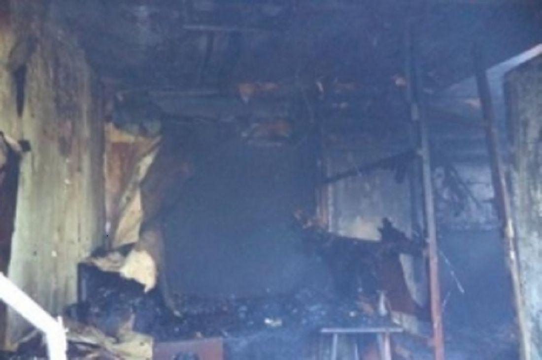 При пожаре вПензенской области пострадал человек